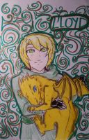 Lloyd and Dragon 3# by Squira130