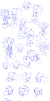 Sonic charas ping pong pung by Faezza