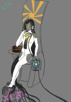 Human Glados by Reisuchan