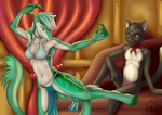 Comm: The Dancer by SacrificAbominat