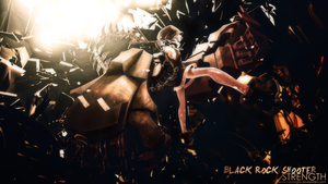 GFX time ~ ^-^ Black Rock Shooter Strength ~ by Nyusagie