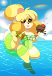 Summertime Isabelle by QueenAshi