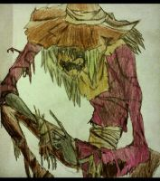 Scarecrow - Batman by malloryjohnson15
