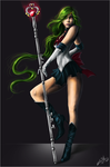 ...::::Sailor Pluto::::.. by WhiteSpiritWolf