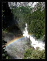 Vernal Falls Rainbow by SurfGuy3
