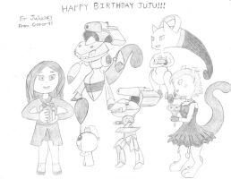 Happy Birthday JujuSary! by C-ster91
