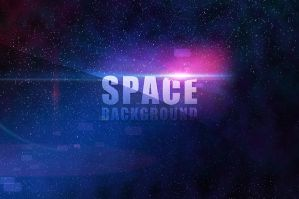 Space Background by VectorMediaGR