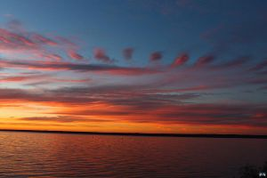 Fall Sunset Series #72 by LifeThroughALens84