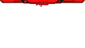 Red Twitch Overlay by DolphinGFX