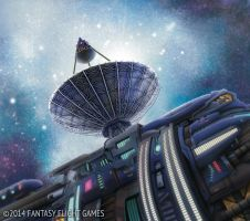 Android: Netrunner- Primary Transmission Dish by LucasDurham