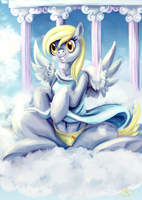 derpy hooves by Caindra