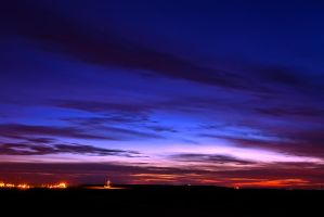 Sky after sunset by GorALexeY
