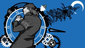 Shinjiro Aragaki - P3 Vita Wallpaper (P4G Style) by Darkside989