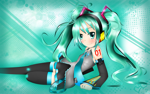 Hatsune Miku (What am I doing here....?) by PrettyWitchDoremi
