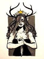 woman king by outonalark