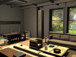 2nd 3D room day 1 by JakeGreen