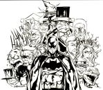 The Bat and his Villains by wheels9696