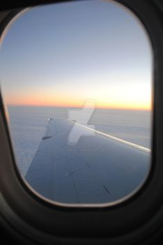 Sunrise on an Airplane by Maximum-Ride14