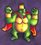 King K. Rool by gagaman92
