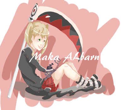 SE: Day 1-Favorite Meister:Maka Albarn by CrystleIceFire