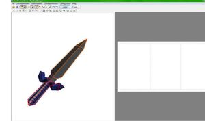 master sword WIP by killero94
