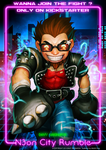 N30N CITY RUMBLE  Wanna join the fight ? by Darkdux