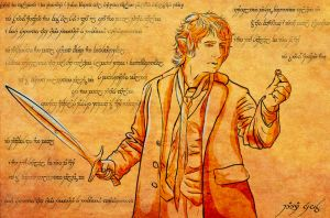 chronicle Bilbo Baggins by DarraChese