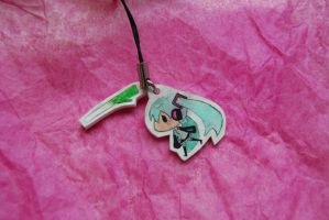 hatsune miku phone charm by olive-happy