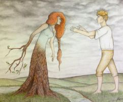Apollo and Daphne by Dragonfan55