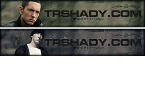 Eminem - TRshady Website Banners by CREEPnCRAWL