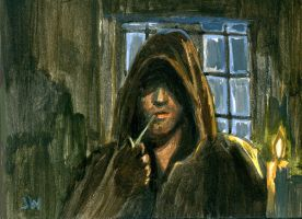 Aragorn Sketch Card ACEO by Stungeon