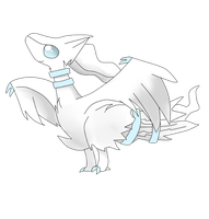 cute reshiram by Mizdreavus
