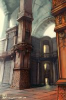 Old Library by rollingstarr