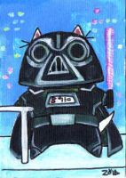 Darth Vader funny cat by KingZoidLord