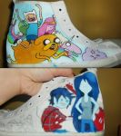 Adventure Time Shoes - Preview by Donovv