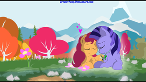 Love Birds Commission by CreativPony