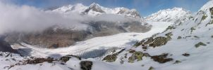 Grosser Aletschgletscher by Azifri