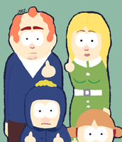 SP: The Tucker family. by DaRainbowGurl