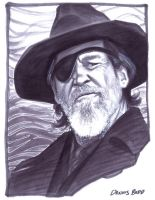 convention sketch 18 Rooster Cogburn by DennisBudd