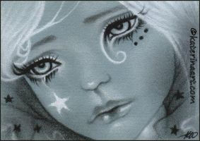 ACEO - Fallen Star by Katerina-Art