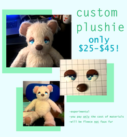 Custom Plush for ONLY COST OF MATERIALS! by verigupi