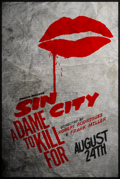 The Dame - Sin City: A Dame to Kill For Poster by edwardjmoran