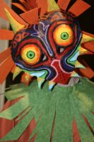 Majora's Mask Close-up by Misakochan