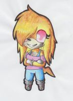 Chibi/Paperchild SPECIAL Uxie colored free by LunaTheRenahog