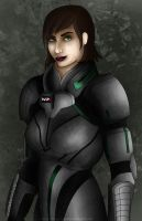 Shepard-Commander by theclumsyninja