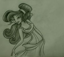 Megara from Hercules by perilousrealms