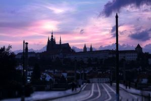 Prague in a velvet glove by O-Renzo