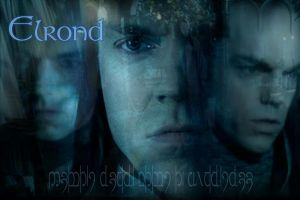Elrond Wallpaper by sydneysomething