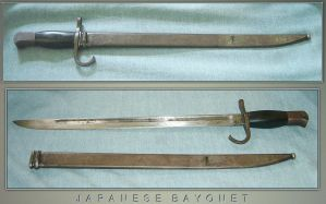 World War II Japanese Bayonet by FantasyStock