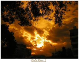 Cielo Ocre 2 by tomegatherion